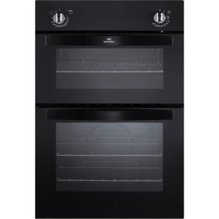 New World NW901DO Electric Double Oven - Black - GRADED
