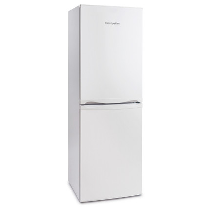 Montpellier MS170W 54cm Wide 170cm Tall Fridge Freezer - White - BRAND NEW