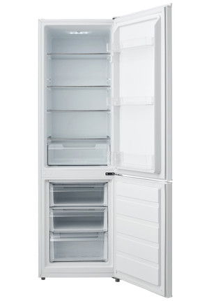 Montpellier MS180W 55cm Wide 180cm Tall Static Combi Fridge Freezer - White - BRAND NEW