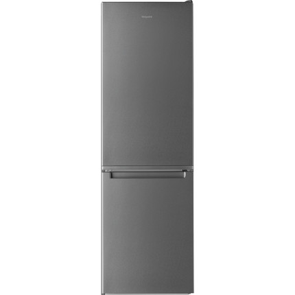 Hotpoint H3T811IOX 70/30 Frost Free Fridge Freezer - Stainless Steel Effect - A+ Rated - GRADED