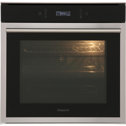 Hotpoint Class 6 SI6874SPIX Built In Electric Single Oven - Stainless Steel - A+ Rated - GRADED