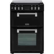 Stoves Richmond600DF 60cm Dual Fuel Cooker - Black - A/A Rated - GRADED