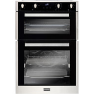 Stoves ST BI902MFCT Built In Double Oven - Stainless Steel - A/A Rated - GRADED.