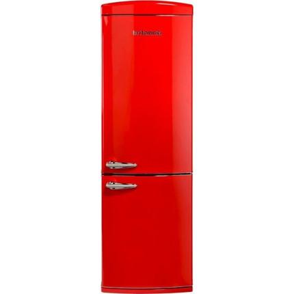 Britannia 544446250 Breeze Retro Frost Free Fridge Freezer 70/30 - Red - BRAND NEW