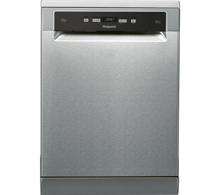 HOTPOINT HDFO 3C24 W C X UK Full-size Dishwasher - Inox / Stainless Steel - GRADED