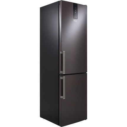 Hotpoint H9T921TKSH 70/30 Frost Free Fridge Freezer A++ Rated - Black / Stainless Steel - GRADED