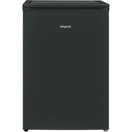 Hotpoint H55RM1110K 55cm Larder Fridge - Black - A+ Rated - GRADED