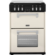 Stoves Richmond 600E 60cm Electric Cooker with Ceramic Hob - Cream - A/A Rated - GRADED