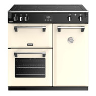 Stoves Richmond DX S900Ei 90cm Induction Range Cooker - Cream - GRADED.