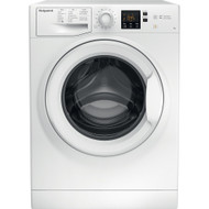 Hotpoint NSWM743UWUK 7Kg Washing Machine with 1400 rpm - A+++ Rated - White - GRADED