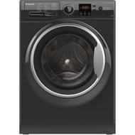 Hotpoint NSWM1043CBS 10KG 1400 Spin Washing Machine - Black - GRADED