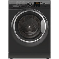Hotpoint NSWM743UBSUK 7KG 1400 Spin Washing Machine - Black - GRADED