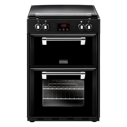 Stoves Richmond600Ei 60cm Electric Cooker with Induction Hob - Black - A/A Rated - GRADED