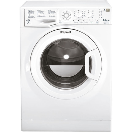 Hotpoint FDL8640PUK 8Kg / 6Kg Washer Dryer with 1400 rpm - White - A Rated - GRADED