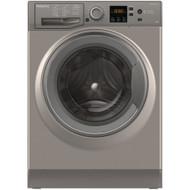 Hotpoint NSWM843CGG 8KG 1400 Spin Washing Machine - Graphite - GRADED