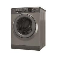 Hotpoint NSWM863CGG 8kg 1600rpm Freestanding Washing Machine - Graphite - GRADED
