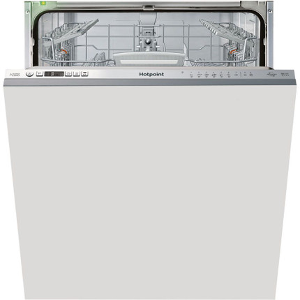 Hotpoint Ultima HIO3T1239EUK Fully Integrated Standard Dishwasher - Stainless Steel Control Panel with Fixed Door Fixing Kit - A++ Rated - GRADED