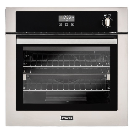 Stoves BI600G Built In Gas Single Oven - Stainless Steel - A+ Rated - GRADED.