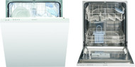 Indesit Eco Time DIF04B1 Fully Integrated Standard Dishwasher - A+ Rated - GRADED