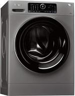 Whirlpool Supreme Care Premium FSCR10432S Washing Machine - Silver - GRADED
