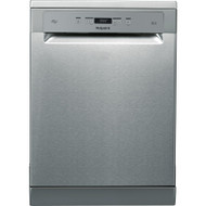 Hotpoint HFO3T222WGX Standard Dishwasher - Stainless Steel - A++ Rated - GRADED