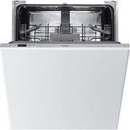 Whirlpool WIC3C26UK Fully Integrated Standard Dishwasher - Silver - Control Panel with Fixed Door Fixing Kit - A++ Rated - GRADED