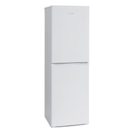 Montpellier MS171W 55cm Wide 175cm Tall Static Combi Fridge Freezer - White - BRAND NEW