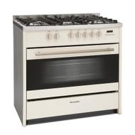 Montpellier MR95DFCR 90cm Dual Fuel Range Cooker - Cream - BRAND NEW