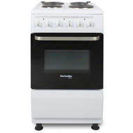 Montpellier Eco SCE50W 50cm Single Cavity Electric Cooker - White - A Rated - BRAND NEW