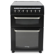 Montpellier Eco TCC60BK 60cm Twin Cavity Electric Cooker - Black - A Rated - BRAND NEW