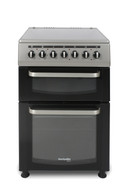 Montpellier Eco TCC60S 60cm Twin Cavity Electric Cooker - Silver - A Rated - BRAND NEW