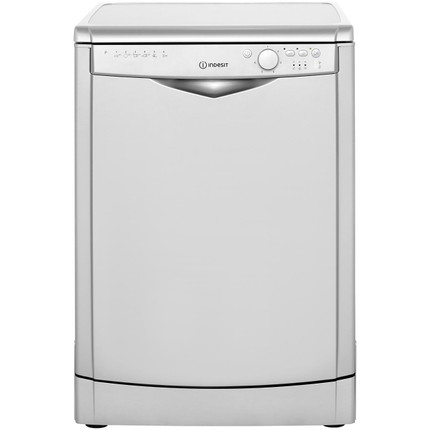 Indesit My Time DFG26B1S Standard Dishwasher - Silver - A+ Rated - GRADED