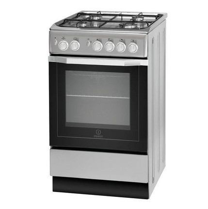 Indesit I5GG1S 50cm Gas Cooker - Silver - BRAND NEW