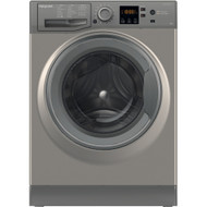 HOTPOINT NSWR 863C GG UK 8 kg 1600 Spin Washing Machine - Graphite - A+++ Rated - GRADED