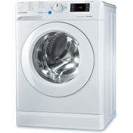 INDESIT BDE 861483X W 8kg / 6kg 1400 Spin Washing Machine - White - A Rated - GRADED