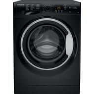 Hotpoint NSWM863CBS 8kg 1600rpm Freestanding Washing Machine - Black - GRADED
