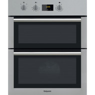 Hotpoint Class 4 DU4 541 IX Electric Built-under Double Oven - Black & Stainless Steel - BRAND NEW