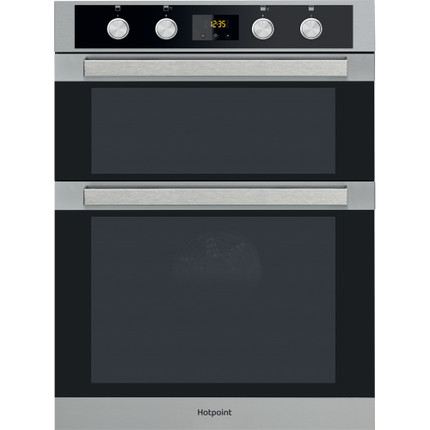 Hotpoint Class 5 DKD5 841 J C IX Electric Built-In Double Oven - Stainless Steel - A Rated - GRADED