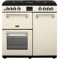 Stoves Belmont900DFT 90cm Dual Fuel Range Cooker - Cream - A/A/A rated - GRADED