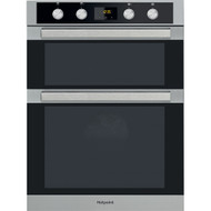 Hotpoint DXD7 841 J C IX Built In Double Electric Oven - Stainless Steel - GRADED