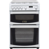 Hotpoint Cannon CH60GCIW Gas Cooker - White - GRADED
