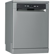 HOTPOINT HFC 3C26 WC X UK Full-size Dishwasher - Stainless Steel - GRADED