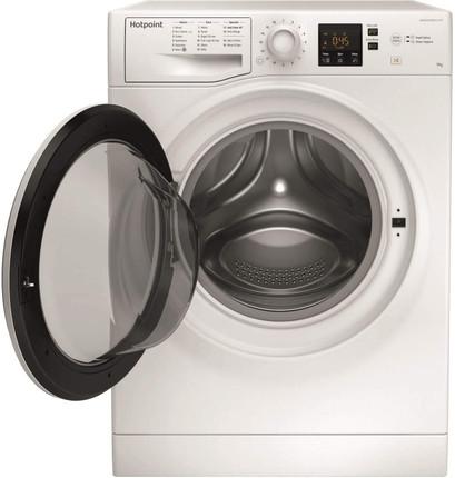Hotpoint NSWM 943C W UK N 9kg Washing Machine - White - GRADED