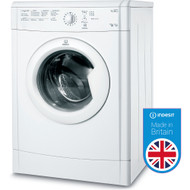 Indesit IDVL75BR Vented Tumbe Dryer - White - GRADED