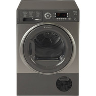 Hotpoint SUTCD97B6GM 9Kg Condenser Tumble Dryer - Graphite - B Rated - GRADED