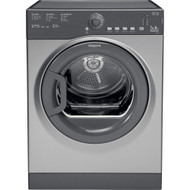 Hotpoint TVFS73BGG.9 7kg Vented Dryer - Graphite - B Rated - GRADED