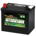 Deka Outdoorsman 12V 350CCA Battery Positive Left