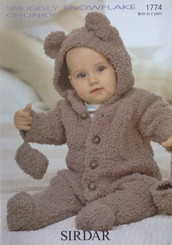 Sirdar Snuggly Snowflake Chunky knitting pattern 1774