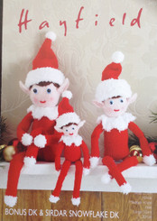 Hayfield Christmas Elves knitting pattern 2475