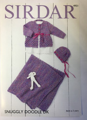Sirdar Snuggly Doodle DK Knitting pattern 4931